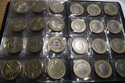 Coin Album 96 coins perfect for 50p ,£2 ,penny and other british coins 3
