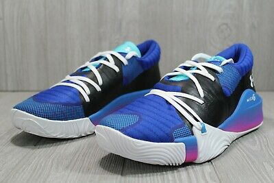 Details about  /56 Rare Under Armour Anatomix Spawn Low Basketball Shoe Mens 12 12.5 3022384-407