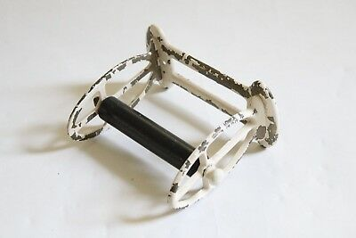 antique toilet paper holder | vtg deco bathroom victorian toilet tissue tp 10