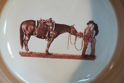 8 of 11 Montana Lifestyles Dinnerware Western Branded Cowboy 16 Pc Set Service 4 New : montana lifestyles dinnerware - pezcame.com