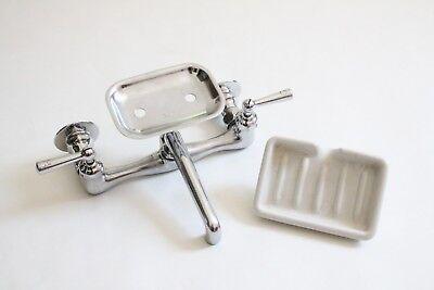 antique faucet kitchen sink   crane vtg mixing faucet victorian plumbing deco 2
