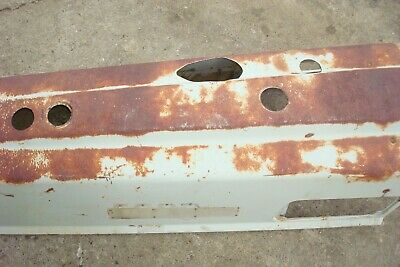 Ford 6000 Tractor Hood 4