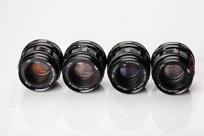 US Seller Helios 44m-4 58mm f2 EXC Old Russian portrait Lens DSLR M42 Mount 44-2 10