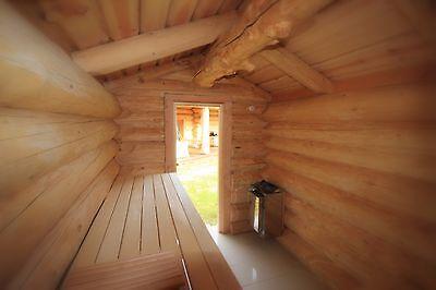 Naturstammblockhaus, Blockhaus, Holzhaus,Ferienhaus,Gartenhaus, Sauna, Cotta 6