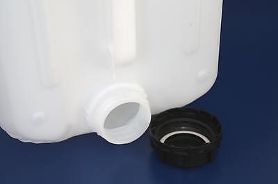 3 L KANISTER CANISTER LEER EMPTY KUNSTSTOFF PLASTIK WASSER WATER BEHÄLTER DECKEL