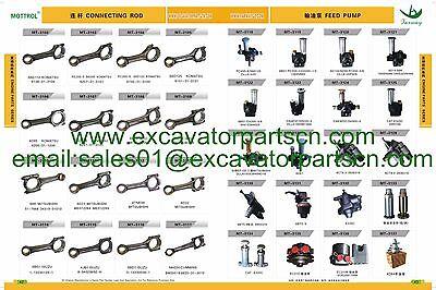 8-97254148-1 8-94170341-0  WATER PUMP FITS ISUZU 4LE1 engine  EX50 EX55 S035 S30 11