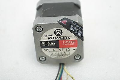 Oriental Motor Vexta 2-Phase Stepping Motor Pk245-01A + Px245M-01A Working Free 3