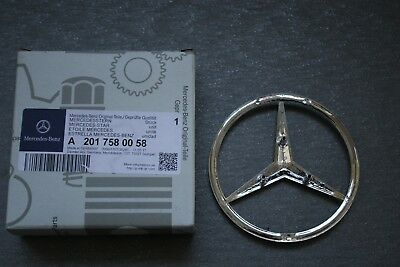 Genuine Mercedes-Benz W201 190E 2.3-16 Rear badge Trunk logo emblem