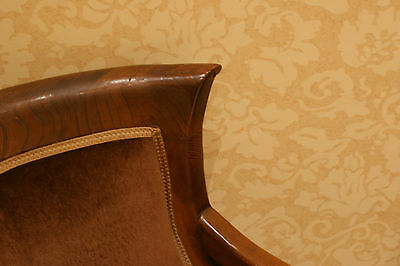 2 Armchairs/Dining Chairs Carved Solid Mahogany? Wood 7