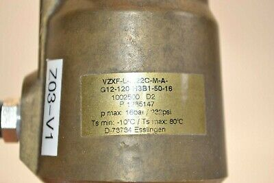 Festo VZXF-L-M22C-M-A-G12-120-H3B1-50-16 aslant Valve Angle Seat Valve 9