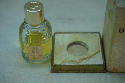 Vintage Perfume Givenchy Le De Parfum 14 Oz With Original Box Paris