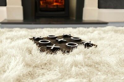 Modern Large Extra Thick 9cm High Pile SHAGGY Floor RUG with SPARKLE SHIMMER 6