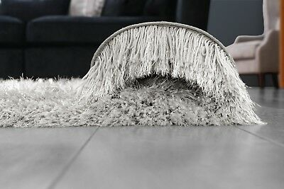 Modern Large Extra Thick 9cm High Pile SHAGGY Floor RUG with SPARKLE SHIMMER 11