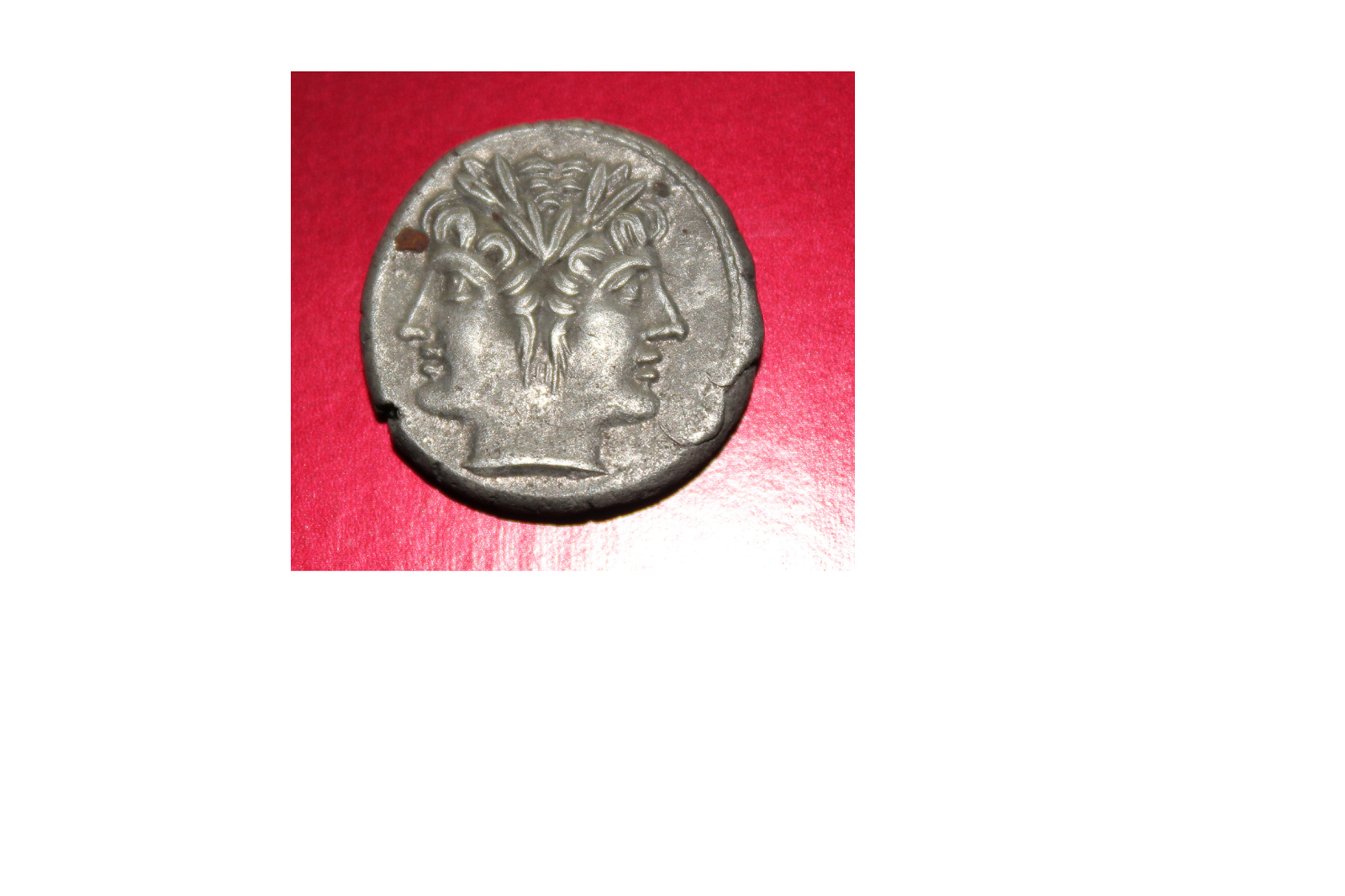 Roman Republic, Anonymous SUPERB AR Didrachm With Coin Gift 11