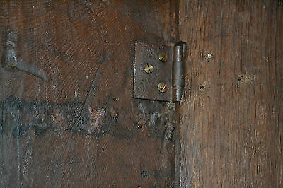 Fine quality antique 18th century Oak bible box with inlay on later stand, c1760 9
