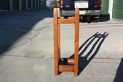 Gustav Stickley No. 54 Mission Oak Arts & Crafts Umbrella Stand 7