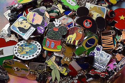 Disney Trading Pins-Lot of 25-No Duplicates-LE-HM-Rack-Cast 2