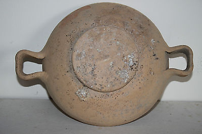 ANCIENT GREEK POTTERY HELLENISTIC STEM KYLIX 3rd  CENTURY BC 2