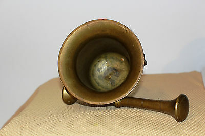 Mörser Schlegel Stössel antik Pistill Küche Pulver Deko Tabletten # 6251 4