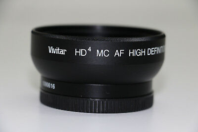 Vivitar HD MC AF High Definition 0.43X Wide Angle Convertor w/ Macro 2