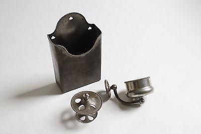 antique bathroom toilet cup tumbler toothbrush holder | brasscrafters vtg deco 4