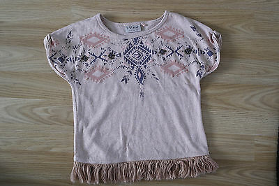Next short sleeve top with River Island leggings for girl 3-4 years 2