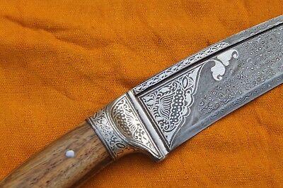 Indo-Persian Mughal Islamic Silver Inlay Calligraphy Dagger Khanjar Ramadan Eid 8