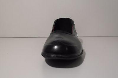 TRUE VINTAGE 50ER Herren Schuhe Überzieher Galoschen schwarz