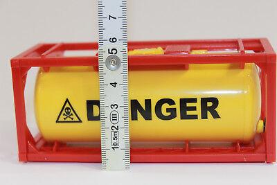1x Container Tankcontainer Danger Stapelbar 1:50 Neu 3922 Modellbau