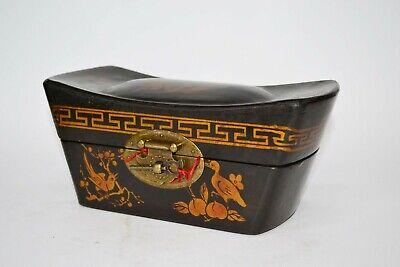 Truhe Kisten Box Schmuckbox Schatulle Holz chinesische Möbel Schatzkiste Vintage 5