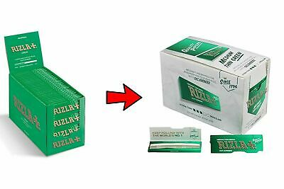 600 Rizla Green Rolling Papers Made In Belgium Original 12 Booklets 4