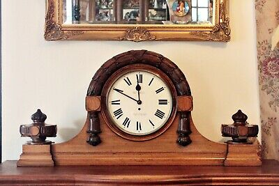 Antique Extra Large Extra Rare English Fusee 'Bethell', Coventry Astral Clock 2