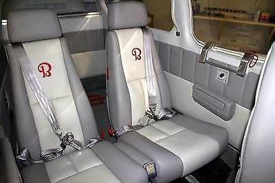 3 Of 12 Beechcraft Bonanza Or Debonair (4 Seat) Custom Leather Interior