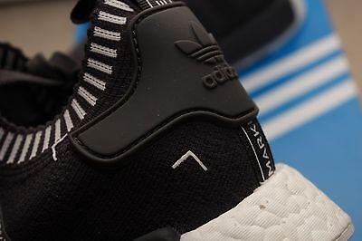 b101c5f7bf6eb ... Adidas NMD R1 PK Primeknit Boost Vapor Grey Supreme White Black Japan  OG S81849 7