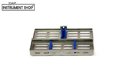 Dental Sterilization Cassette Tray Rack of 5 7 10 & 20 Instruments Surgical Tool