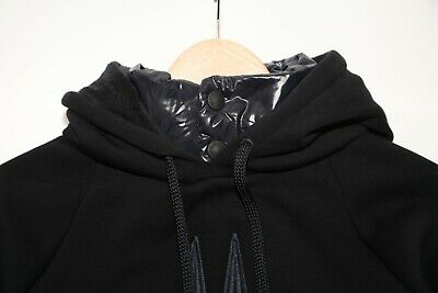 378 MONCLER Grenoble Logo Embroidered Pullover Hoodie Size M