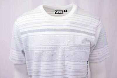 Vans Off The Wall Men's White Striped Climbed-J S/S Tee S02 (Retail $34) 3