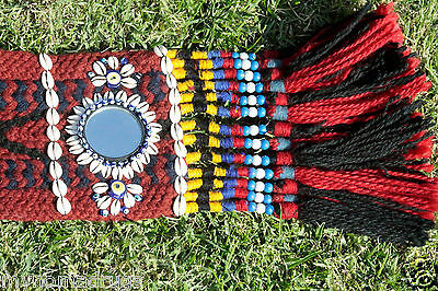 Antique Camel or Tent Decoration with Blue Eyes Textile from SE of Turkey 9