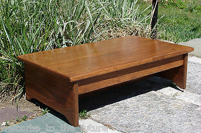 2 Of 12 Handcrafted Heavy Duty Wood Bedside Step Stool Bed 8 Tall 14 X 24