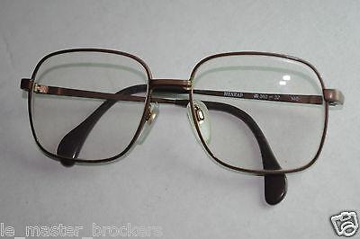 2 sur 12 Monture optique vue ou lunettes soleil vintage Eyeglasses mixte  MENRAD M 363-32 b0cc107ed517