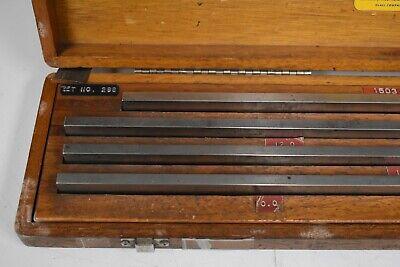"DoAll 5-20"" Rectangular Steel Large/Long Gage Block Set - NN39 3"