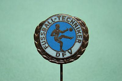 70ziger Jahre  ! Fussball Verband der DDR SELTEN Orig.PIN     DFV