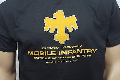 Starship Troopers 80s inspired mens film t-shirt - Mobile Infantry 2