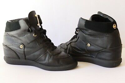 Michael Kors Sneakers In Pelle Tg 40 Scarpe Lether Shoes Original 100% 4