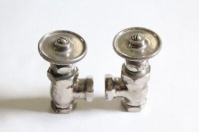 antique faucet wheel shut off angle valve | united deco vtg victorian plumbing 9