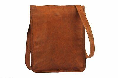 Aktentasche Umhängetasche Lehrertasche Schultasche Leder Tasche spitze Indian 2