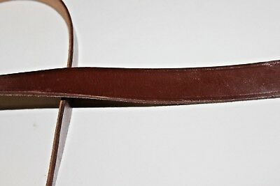 1 LEATHER SLING FITS 7.62X39 RIFLES FAIR CONDITION Y58