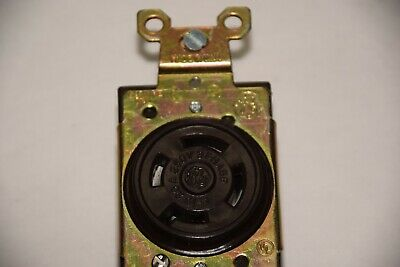 Ge General Electric L-15 20A 250V 3 Phase Twist Lock Receptacle New 3