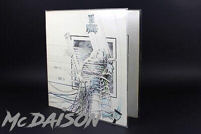 "10 BUSTE DOPPIE per LP APRIBILI POLIPROPILENE LUCIDE dischi vinile 33 giri 12"" 4"