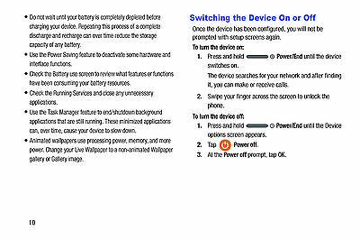 USER MANUAL FOR Samsung Galaxy S5 ACTIVE Ruggedized Cell Phone  SM-G870A-AT&T-CD
